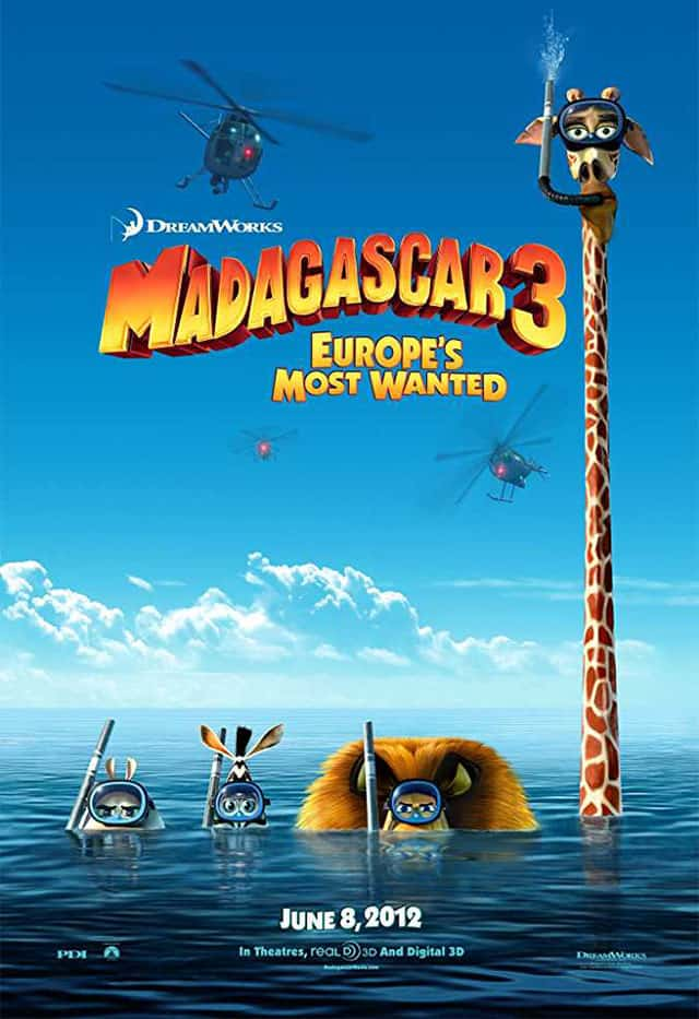 002 Madagascar 3 Europe's Most Wanted